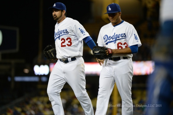 Los Angeles Dodgers vs Atlanta Braves Wednesday, May 27, 2015 at Dodger Stadium in Los Angeles,California. The Braves beat the Dodgers 3-2. Photo by Jon SooHoo/©Los Angeles Dodgers,LLC 2015