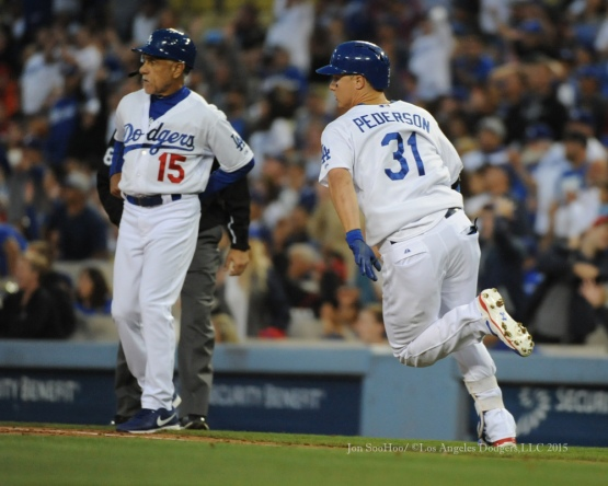 Los Angeles Dodgers during game against the St.Louis Cardinals Thursday, June 4, 2015 at Dodger Stadium in Los Angeles,California. Photo by Jon SooHoo/©Los Angeles Dodgers,LLC 2015
