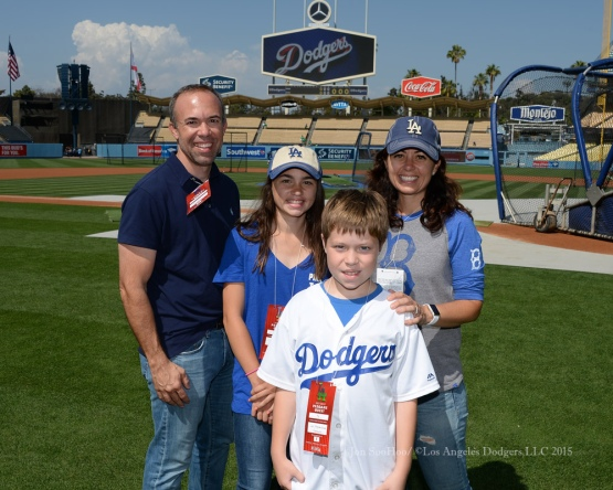 Hollywood Stars Night prior to Los Angeles Dodgers game against the St.Louis Cardinals Saturday, June 6, 2015 at Dodger Stadium in Los Angeles,California. Photo by Jon SooHoo/©Los Angeles Dodgers,LLC 2015