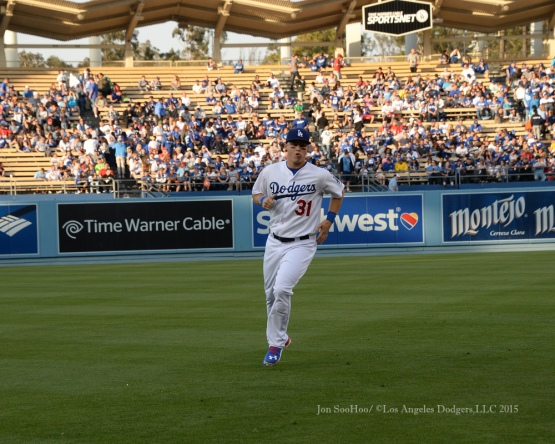 Los Angeles Dodgers game against the St.Louis Cardinals Saturday, June 6, 2015 at Dodger Stadium in Los Angeles,California. Photo by Jon SooHoo/©Los Angeles Dodgers,LLC 2015