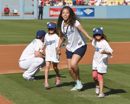 Los Angeles Dodgers game against the St.Louis Cardinals Sunday, June 7, 2015 at Dodger Stadium in Los Angeles,California. Photo by Jon SooHoo/©Los Angeles Dodgers,LLC 2015