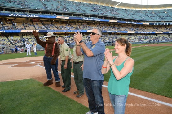 Los Angeles Dodgers during game against the Arizona Diamondbacks Monday, June 8, 2015 at Dodger Stadium in Los Angeles,California. Photo by Jon SooHoo/©Los Angeles Dodgers,LLC 2015