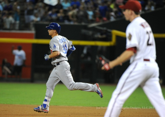 Los Angeles Dodgers during game against the Arizona Diamondbacks Monday, June 29, 2015 at Chase Field in Phoenix, Arizona. The Diamondbacks beat the Dodgers 10-6. Photo by Jon SooHoo/©Los Angeles Dodgers,LLC 2015