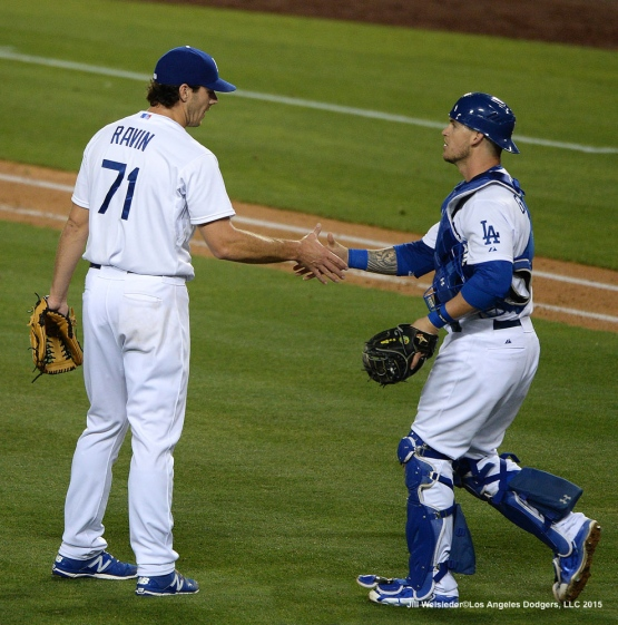 The Dodgers take the 9-3 win against the Arizona Diamondbacks . Jill Weisleder/LA Dodgers