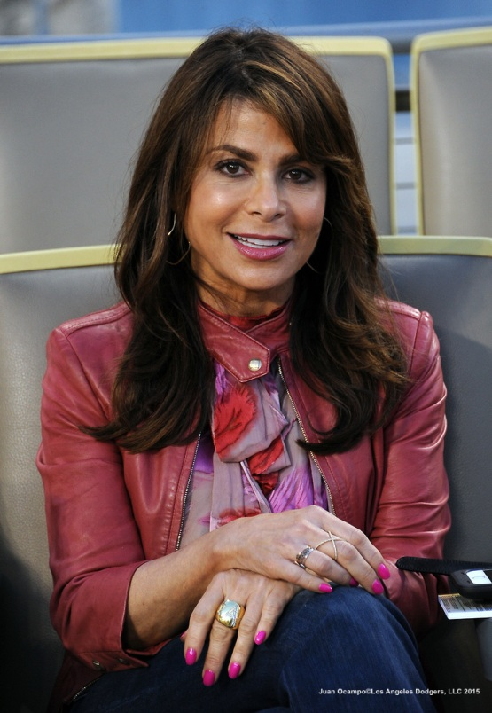 Paula Abdul poses for a photo.