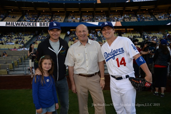 Los Angeles Dodgers game against the Milwaukee Brewers Friday, July 10, 2015 at Dodger Stadium in Los Angeles,California.  Photo by Jon SooHoo/©Los Angeles Dodgers,LLC 2015