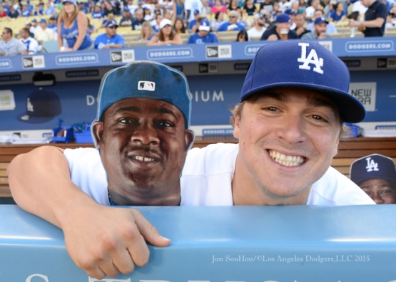 Los Angeles Dodgers during game against the Milwaukee Brewers Saturday, July 11, 2015 at Dodger Stadium. Photo by Jon SooHoo/©Los Angeles Dodgers,LLC 2015.