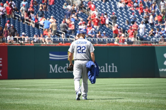 Los Angeles Dodgers continuation of suspended game against the Washington Nationals Saturday, July 18, 2015 at Nationals Park in Washington, DC. Photo by Jon SooHoo/©Los Angeles Dodgers,LLC 2015.