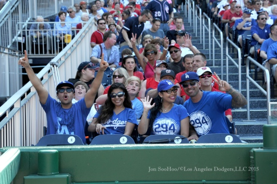 Los Angeles Dodgers game against the Washington Nationals Saturday, July 18, 2015 at Nationals Park in Washington, DC. Photo by Jon SooHoo/©Los Angeles Dodgers,LLC 2015.