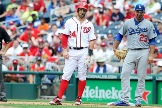 Los Angeles Dodgers game against the Washington Nationals Sunday, July 19, 2015 at Nationals Park in Washington, DC. The Dodgers beat the Nationals 5-0. Photo by Jon SooHoo/©Los Angeles Dodgers,LLC 2015.