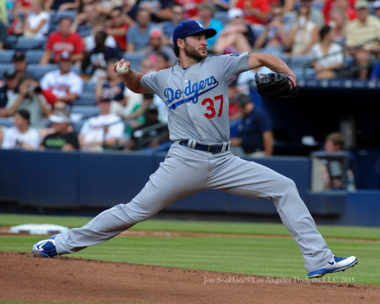 Los Angeles Dodgers game against the Atlanta Braves Monday, July 20, 2015 at Turner Field in Atlanta, Georgia. Photo by Jon SooHoo/©Los Angeles Dodgers,LLC 2015.
