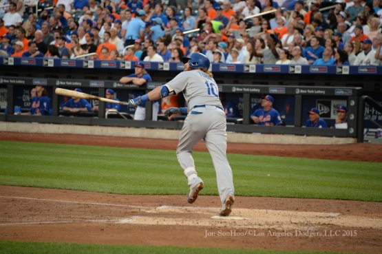 Los Angeles Dodgers game against the New York Mets July 24, 2015 at Citi Field in New York, New York. Photo by Jon SooHoo/©Los Angeles Dodgers,LLC 2015.