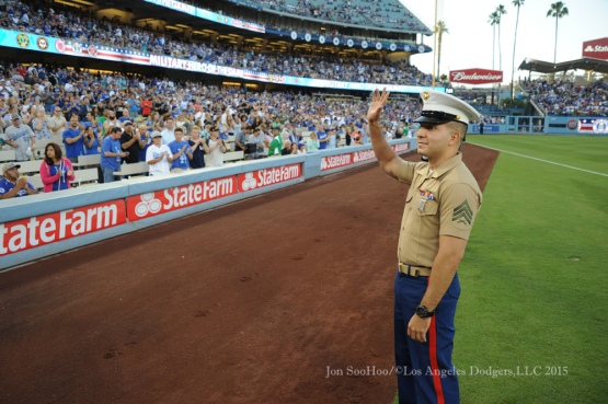 Los Angeles Dodgers game against the Oakland Athletics Tuesday, July 28, 2015 at Dodger Stadium. Photo by Jon SooHoo/©Los Angeles Dodgers,LLC 2015.