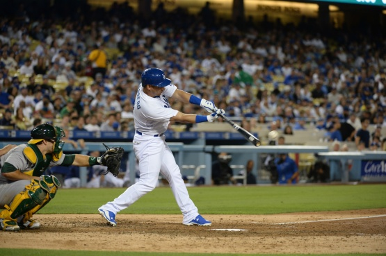 Los Angeles Dodgers game against the Oakland Athletics Wednesday, July 29, 2015 at Dodger Stadium. Photo by Jon SooHoo/©Los Angeles Dodgers,LLC 2015.