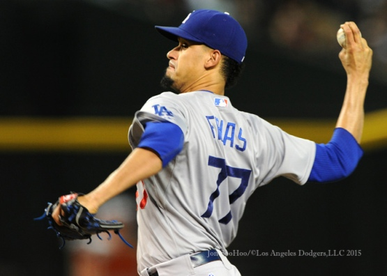 Los Angeles Dodgers during game against the Arizona Diamondbacks Tuesday, June 30, 2015 at Chase Field in Phoenix, Arizona. Dodgers beat the Diamondbacks 6-4. Photo by Jon SooHoo/©Los Angeles Dodgers,LLC 2015