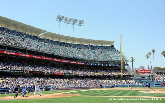 The Los Angeles Dodgers host the New York Mets on Sunday, July 5th at Dodger Stadium. Jill Weisleder/Dodgers