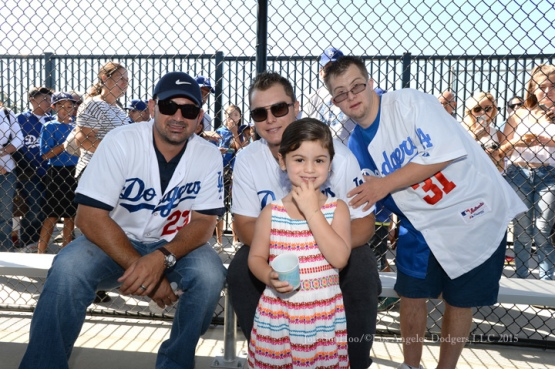 LA Dodgers Foundation: Universally Accessible Dodgers Dreamfield Dedication, Saturday, August 15, Baldwin Hills Recreation Center    Photo by Jon SooHoo/ ©Los Angeles Dodgers,LLC 2015
