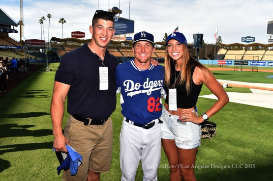 Los Angeles Dodgers vs Los Angeles Angels of Anaheim Friday, July 31, 2015 at Dodger Stadium in Los Angeles, California. Photo by Jon SooHoo/©Los Angeles Dodgers,LLC 2015