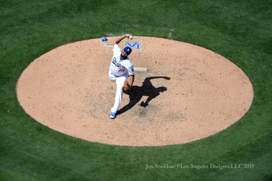 Los Angeles Dodgers vs Los Angeles Angels of Anaheim Saturday, August 1, 2015 at Dodger Stadium in Los Angeles, California. Photo by Jon SooHoo/©Los Angeles Dodgers,LLC 2015