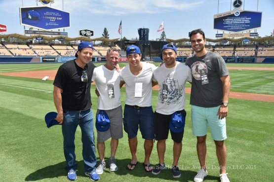 Los Angeles Dodgers vs Los Angeles Angels of Anaheim Sunday, August 2, 2015 at Dodger Stadium in Los Angeles, California. Photo by Jon SooHoo/©Los Angeles Dodgers,LLC 2015