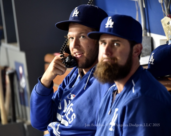Los Angeles Dodgers vs the Washington Nationals Tuesday, August 11, 2015 at Dodger Stadium in Los Angeles, California. Photo by Jon SooHoo/©Los Angeles Dodgers,LLC 2015