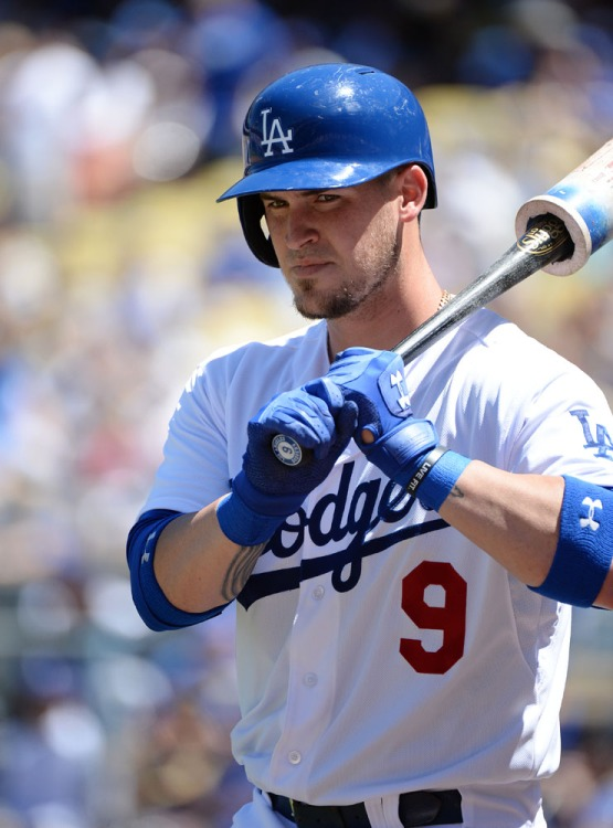 Yasmani Grandal gets ready to bat. Jill Weisleder/LA Dodgers