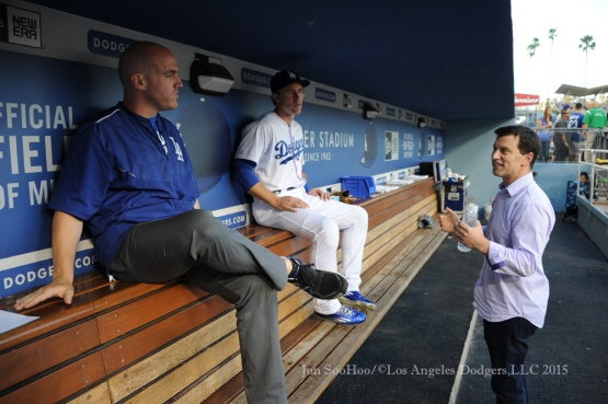 Los Angeles Dodgers vs San Francisco Giants Wednesday, September 2, 2015 at Dodger Stadium in Los Angeles,California. Photo by Jon SooHoo/©Los Angeles Dodgers,LLC 2015