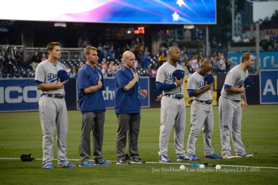 Los Angeles Dodgers vs San Diego Padres Friday, September 4, 2015 at Petco Park in San Diego, California. Photo by Jon SooHoo/©Los Angeles Dodgers,LLC 2015