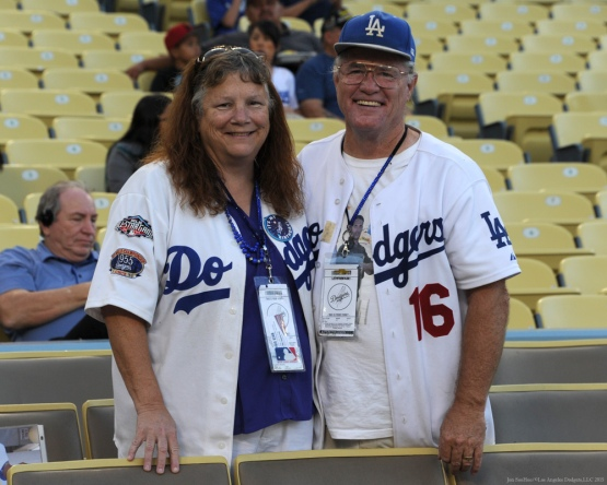 Great Dodger Fans!--Los Angeles Dodgers vs Colorado Rockies Wednesday, September 16, 2015 at Dodger Stadium in Los Angeles, California. Photo by Jon SooHoo/ ©Los Angeles Dodgers,LLC 2015