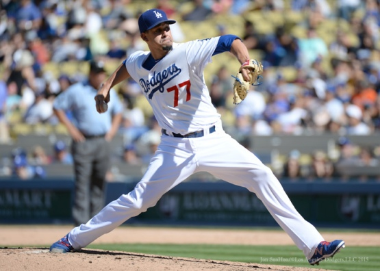 Los Angeles Dodgers vs Pittsburgh Pirates Sunday, September 20, 2015 at Dodger Stadium in Los Angeles,California. Photo by Jon SooHoo/© Los Angeles  Dodgers,LLC 2015