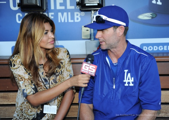Los Angeles Dodgers vs Arizona Diamondbacks Wednesday, September 23, 2015 at Dodger Stadium in Los Angeles,California. Photo by Jon SooHoo/© Los Angeles  Dodgers,LLC 2015