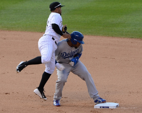 Los Angeles Dodgers vs Colorado Rockies Sunday, September 27, 2015 at Coors Field in Denver,Colorado. The Rockies beat the Dodgers 8-6. Photo by Jon SooHoo /©Los Angeles Dodgers,LLC 2015