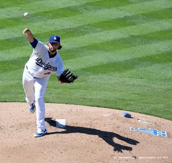 Mike Bolsinger delivers a pitch. Jill Weisleder/LA Dodgers