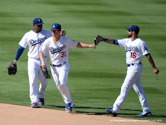 The Dodgers take the 6-3 win against the Arizona Diamondbacks. Jill Weisleder/LA Dodgers