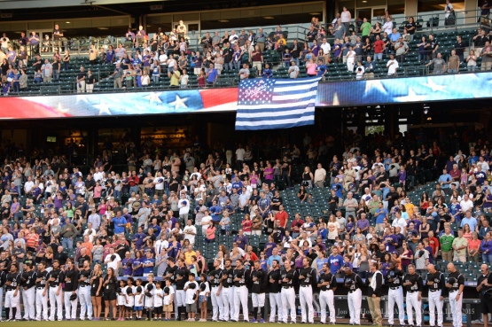 Los Angeles Dodgers vs Colorado Rockies Saturday, September 26, 2015 at Coors Field in Denver,Colorado. The Rockies beat the Dodgers 8-6. Photo by Jon SooHoo /©Los Angeles Dodgers,LLC 2015
