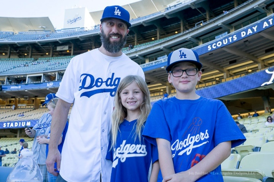 Great Dodger Fans--Los Angeles Dodgers vs Pittsburgh Pirates Saturday, September 19, 2015 at Dodger Stadium in Los Angeles,California. Photo by Jon SooHoo/© Los Angeles  Dodgers,LLC 2015