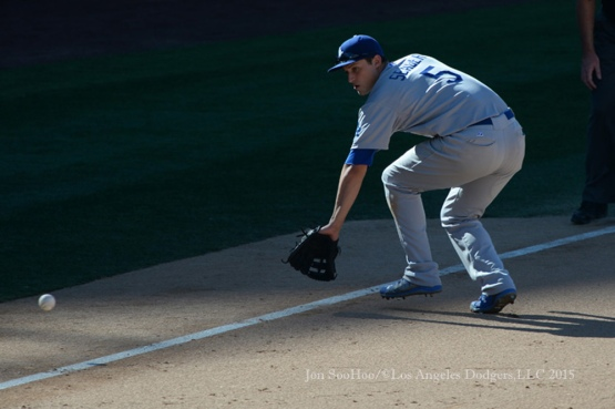 Los Angeles Dodgers vs San Diego Padres Sunday, September 6, 2015 at Petco Park in San Diego, California. Photo by Jon SooHoo/©Los Angeles Dodgers,LLC 2015