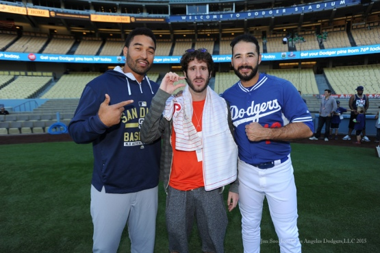 Los Angeles Dodgers vs San Diego Padres Friday, October 2, 2015 at Dodger Stadium in Los Angeles, California.  Photo by Jon SooHoo /©Los Angeles Dodgers,LLC 2015
