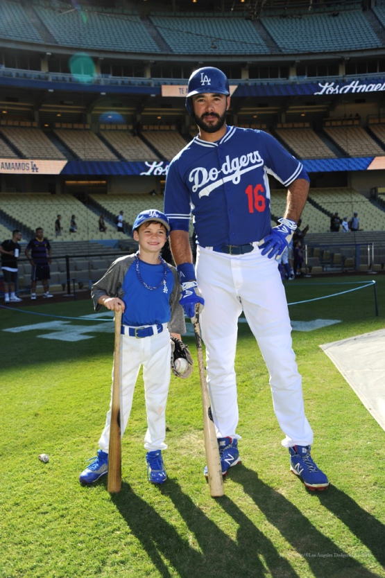 Ethiers--Los Angeles Dodgers vs San Diego Padres Saturday, October 3, 2015 at Dodger Stadium in Los Angeles, California.  Photo by Jon SooHoo /©Los Angeles Dodgers,LLC 2015