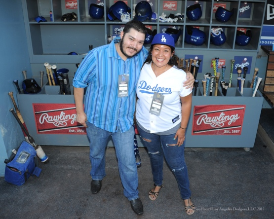 Los Angeles Dodgers vs San Diego Padres Saturday, October 3, 2015 at Dodger Stadium in Los Angeles, California.  Photo by Jon SooHoo /©Los Angeles Dodgers,LLC 2015