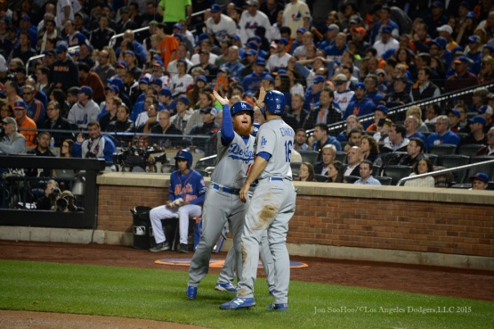 2015 NLDS-Game Three-Los Angeles Dodgers vs New York Mets Monday, October 12, 2015 at Citi Field in Flushing, New York.  Photo by Jon SooHoo /©Los Angeles Dodgers,LLC 2015