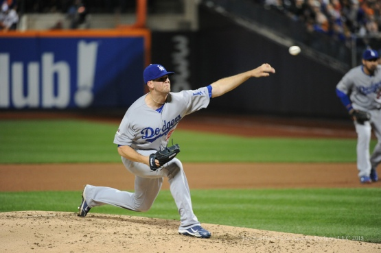 Alex Wood--2015 NLDS-Game Three-Los Angeles Dodgers vs New York Mets Monday, October 12, 2015 at Citi Field in Flushing, New York.  Photo by Jon SooHoo /©Los Angeles Dodgers,LLC 2015
