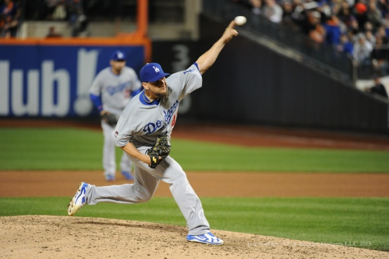 Luis Avilan--2015 NLDS-Game Three-Los Angeles Dodgers vs New York Mets Monday, October 12, 2015 at Citi Field in Flushing, New York.  Photo by Jon SooHoo /©Los Angeles Dodgers,LLC 2015