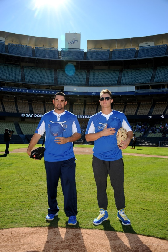Adrian Gonzalez's Bat4Hope Softball Game  Saturday, November 7, 2015 at Dodger Stadium.  Photo by Jon SooHoo/©Los Angeles Dodgers,LLC 2015