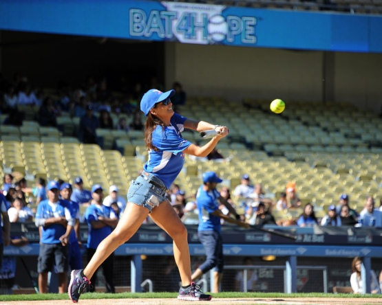 Constance--Adrian Gonzalez's Bat4Hope Softball Game  Saturday, November 7, 2015 at Dodger Stadium.  Photo by Jon SooHoo/©Los Angeles Dodgers,LLC 2015