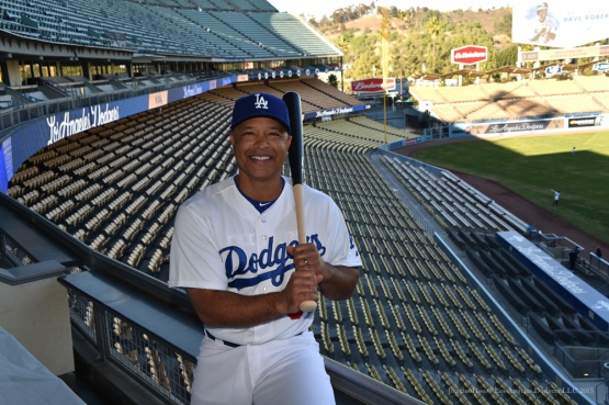 Los Angeles Dodgers Manager Dave Roberts Press Conference Tuesday, December 1, 2015 at Dodger Stadium in Los Angeles,California. Photo by Jon SooHoo/©Los Angeles Dodgers,LLC 2015