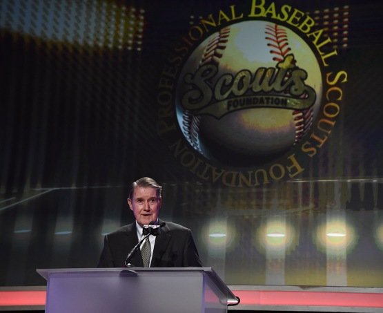 Peter Omalley--13th Annual Pro Baseball Scouts Foundation Awards Dinner Saturday, January 17,2016 at the Beverly Hilton in Beverly Hills, California. Photo by Jon SooHoo/©Los Angeles Dodgers,LLC 2016