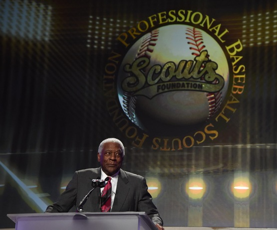 Bill White--13th Annual Pro Baseball Scouts Foundation Awards Dinner Saturday, January 17,2016 at the Beverly Hilton in Beverly Hills, California. Photo by Jon SooHoo/©Los Angeles Dodgers,LLC 2016