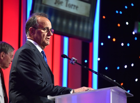 Joe Torre-13th Annual Pro Baseball Scouts Foundation Awards Dinner Saturday, January 17,2016 at the Beverly Hilton in Beverly Hills, California. Photo by Jon SooHoo/©Los Angeles Dodgers,LLC 2016