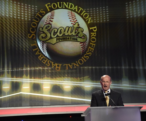 Stan Kasten-13th Annual Pro Baseball Scouts Foundation Awards Dinner Saturday, January 17,2016 at the Beverly Hilton in Beverly Hills, California. Photo by Jon SooHoo/©Los Angeles Dodgers,LLC 2016